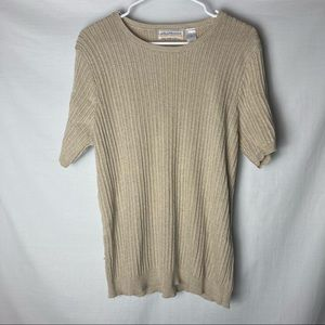 Alfred Dunner Ribbed Sweater E2
